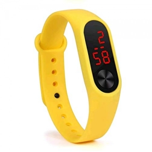 Styllent Digital Mustard Genuine Fitness Band