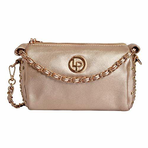Lino Perros Women's Sling Bag (Gold)