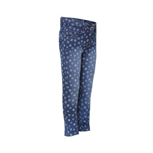 TALES & STORIES Girls Blue Slim Fit Mid-Rise Clean Look Jeans