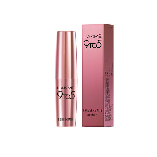 Lakme 9 To 5 Rose Bliss Primer + Matte Lip Color MM13