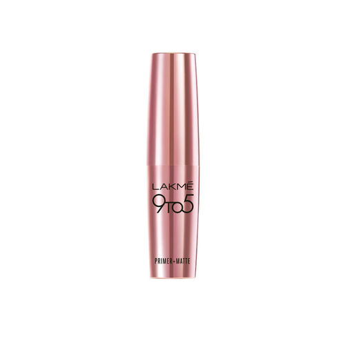Lakme 9 To 5 skin Touch Primer + Matte Lip Color MP24