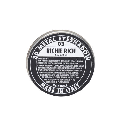 PAC 03 Richie Rich 3D Metal Eyeshadow 3g