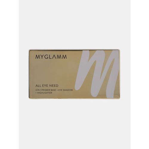 MyGlamm 3 In 1 Eye Shadow +Primer And Highlighter+ Dare To Wear