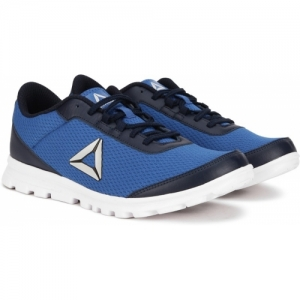 REEBOK Lux Runner LP Blue Mesh Lace Up Running Shoe