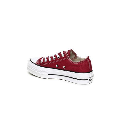 Buy Converse Women Maroon Sneakers