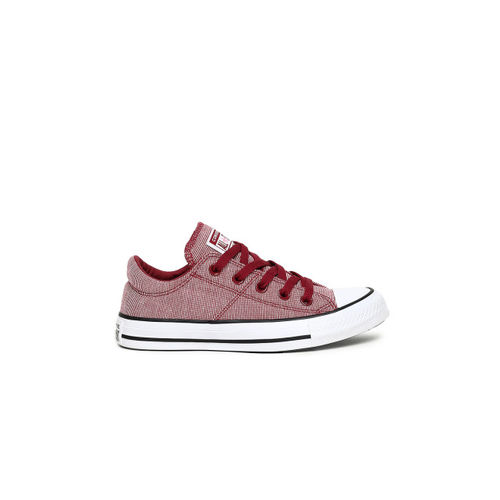 Converse Women Maroon Sneakers
