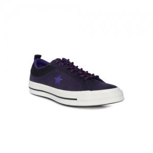 Converse Unisex Purple Sneakers