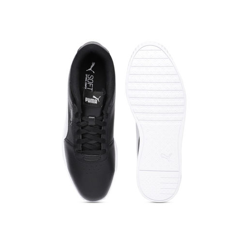 Puma Women Black Carina Slim Sneakers