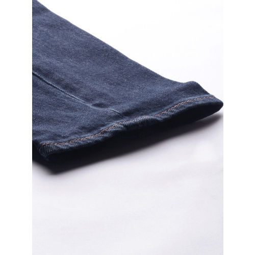 Levis Men Blue 512 Slim Taper Fit Mid-Rise Clean Look Stretchable Engineered Jeans