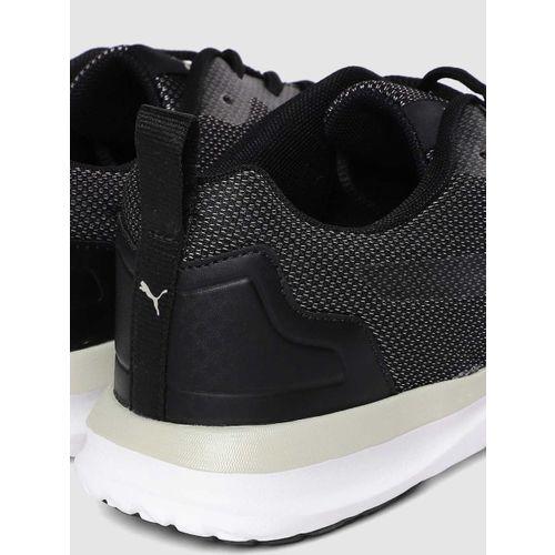 Puma Men Black Canim Idp SoftFoam+ Running Shoes