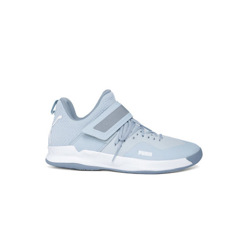 Puma Unisex Grey & Blue Rise XT NETFIT 2 Walking Shoes