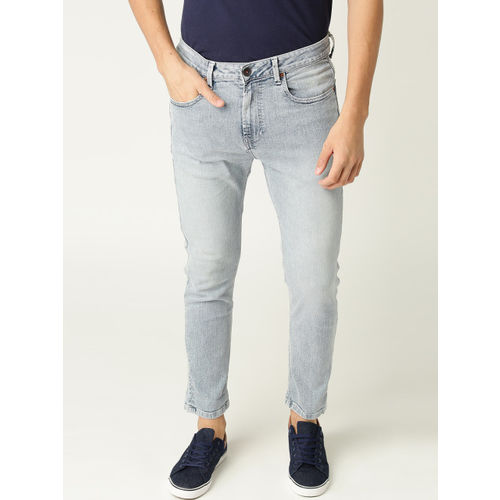 United Colors of Benetton Men Blue Regular Fit Low-Rise Clean Look Stretchable Jeans