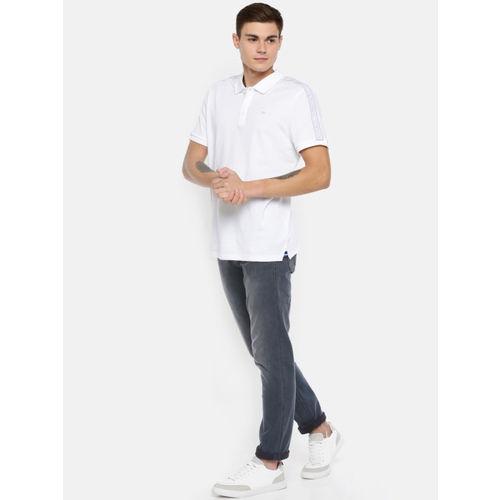 Calvin Klein Jeans Men Blue Body Fit Mid-Rise Clean Look Stretchable Jeans CKJ 027