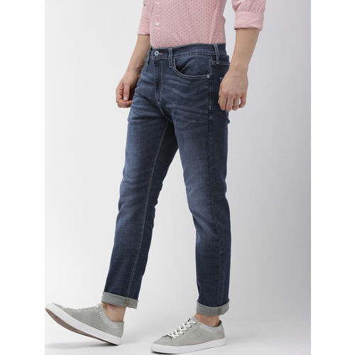Denizen From Levis Men Blue 204Super Skinny Fit Mid-Rise Clean Look Stretchable Jeans