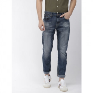 Denizen From Levis Men Blue Skinny Fit Low-Rise Clean Look Stretchable Jeans