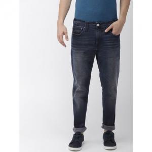 Levis Men Blue 512 Cotton Denim Slim Fit Casual Jeans