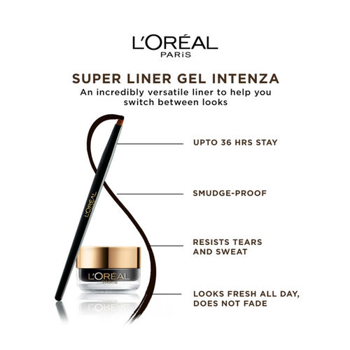 LOreal Set Of Lip Color & Gel Eye Liner