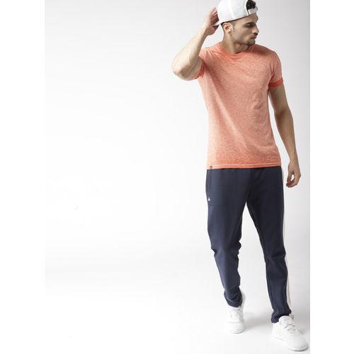 Superdry Men Orange Dyed Round Neck T-shirt