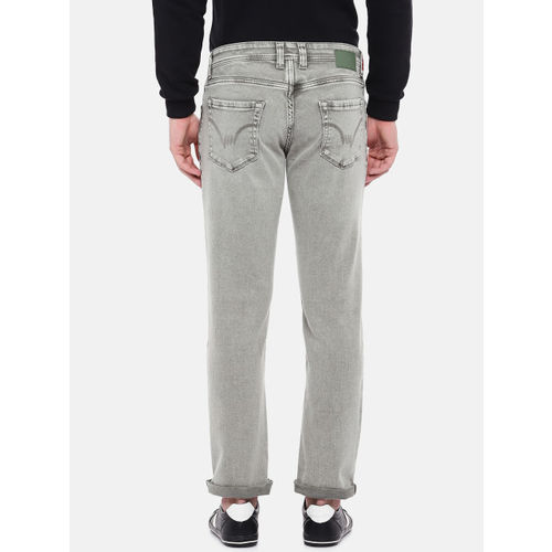 Lawman pg3 Men Grey Slim Fit Mid-Rise Clean Look Jeans