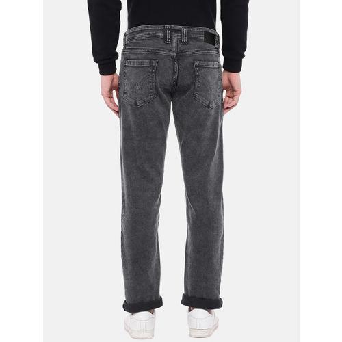 Lawman pg3 Men Black Slim Fit Mid-Rise Clean Look Jeans