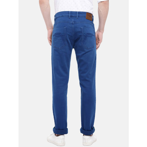 Provogue Men Blue Slim Fit Mid-Rise Clean Look Jeans