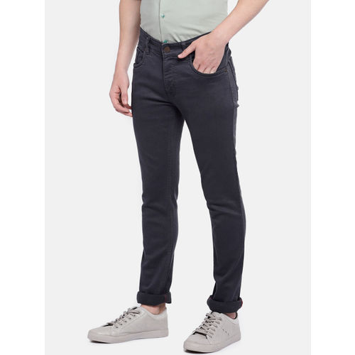 Provogue Men Grey Slim Fit Mid-Rise Clean Look Jeans