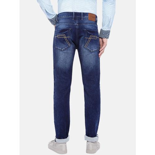 Provogue Men Blue Slim Fit Mid-Rise Clean Look Jeans