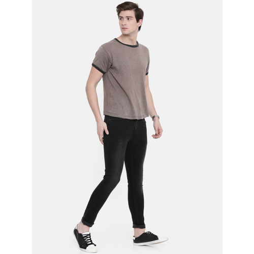 SPYKAR Men Black Super Skinny Fit Low-Rise Clean Look Stretchable Jeans