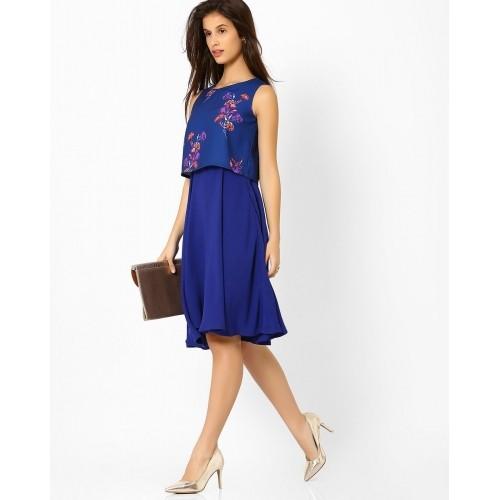 Blue dress online 500