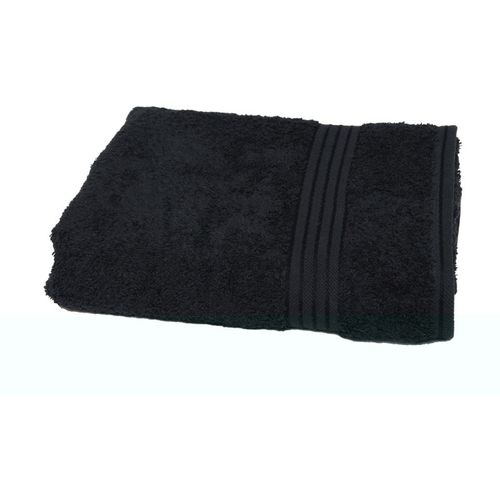 Avira Home Cotton 650 GSM Bath Towel(Black)