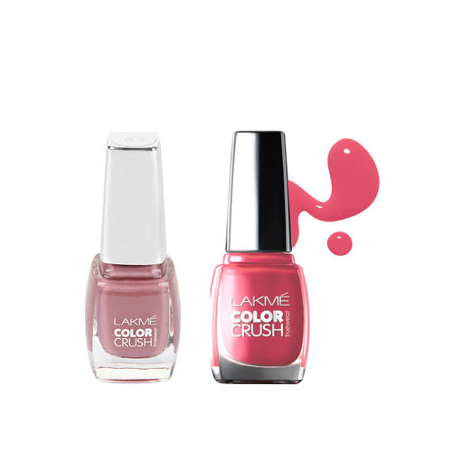 Lakme Set Of 2 Nail Polish