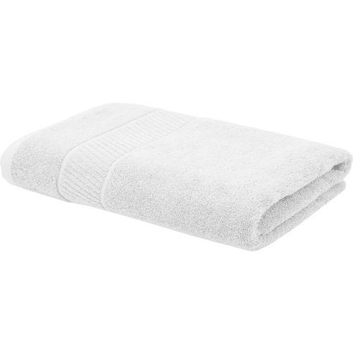 Trident Cotton 550 GSM Bath Towel(White)