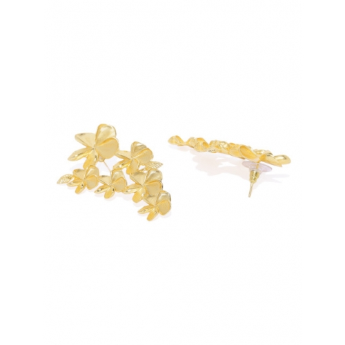 Pipa Bella Gold-Plated Floral Drop Earrings