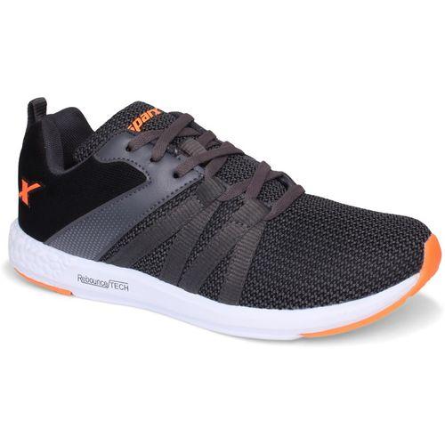 Sparx Men SM-397 Dark Grey Fluorescent Orange Training & Gym Shoes For Men(Navy)