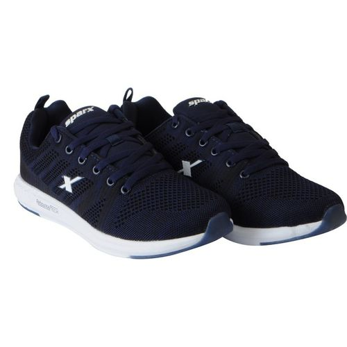 Sparx Mesh Sports Running Shoes For Men(Navy)