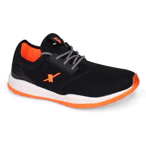 Sparx Men SM-399 Black Fluorescent Orange Walking Shoes For Men(Black)