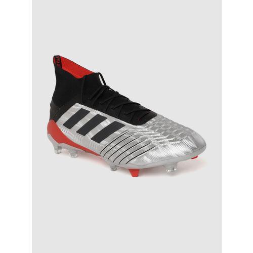 ADIDAS PREDATOR 19.3 FG Football Shoes For Men(Silver)