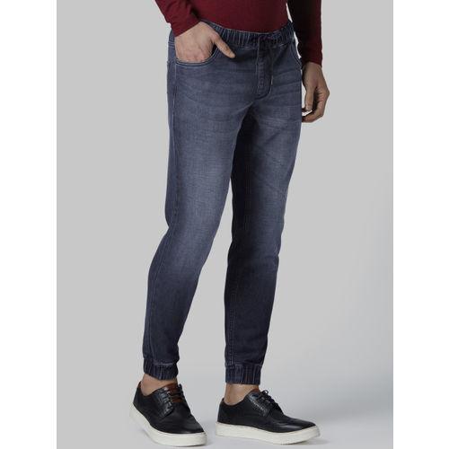 Park Avenue Men Blue Regular Fit Mid-Rise Clean Look Jeans