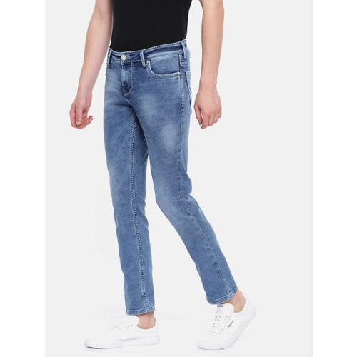 Lawman pg3 Men Blue Slim Fit Mid-Rise Clean Look Stretchable Jeans