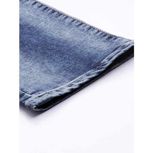 U.S. Polo Assn. Denim Co. Men Blue Brandon Slim Tapered Fit Clean Look Stretchable Jeans