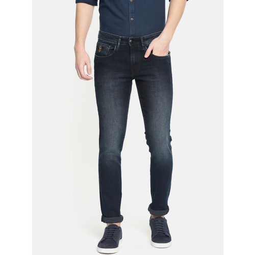 U.S. Polo Assn. Denim Co. Men Blue Regallo Skinny Fit Clean Look Stretchable Jeans