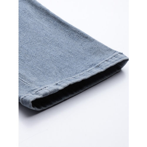 U.S. Polo Assn. Denim Co. Men Blue Slim Fit Mid-Rise Clean Look Stretchable Jeans