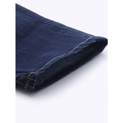 Moda Rapido Men Blue Slim Fit Mid-Rise Clean Look Stretchable Jeans