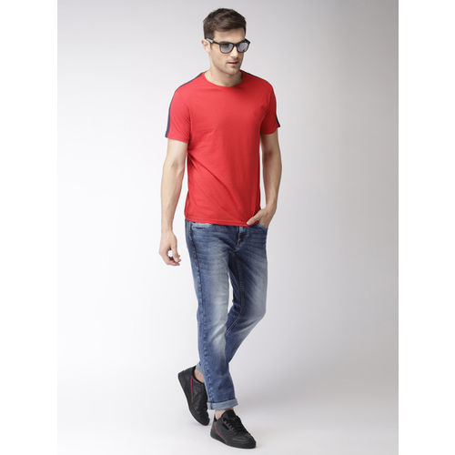 Flying Machine Men Blue Slimtapered Fit Mid-Rise Clean Look Jeans