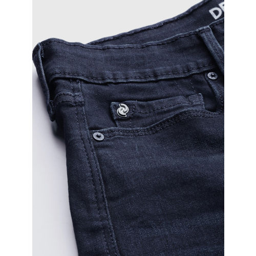 Denizen From Levis Women Blue Super Skinny Fit High-Rise Clean Look Stretchable Jeans