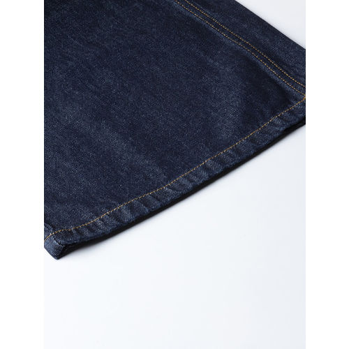 United Colors of Benetton Women Navy Blue Loose Fit High-Rise Clean Look Jeans