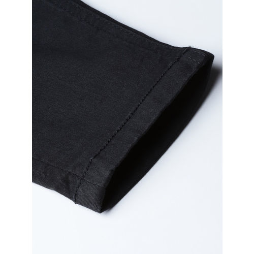 United Colors of Benetton Women Black Mid-Rise Clean Look Stretchable Jeans