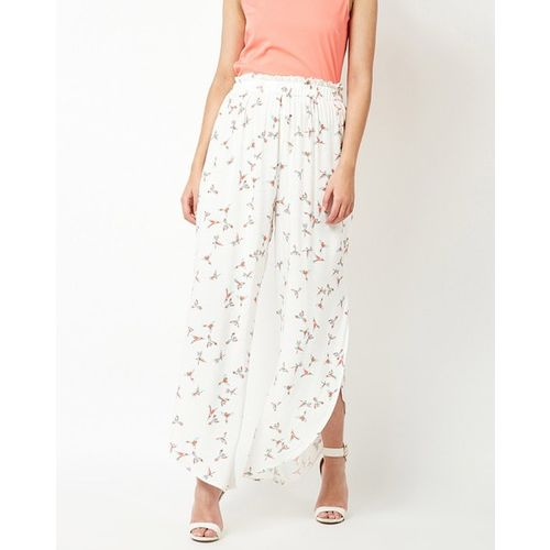Oxolloxo Printed Culottes with Paper-Bag Waist