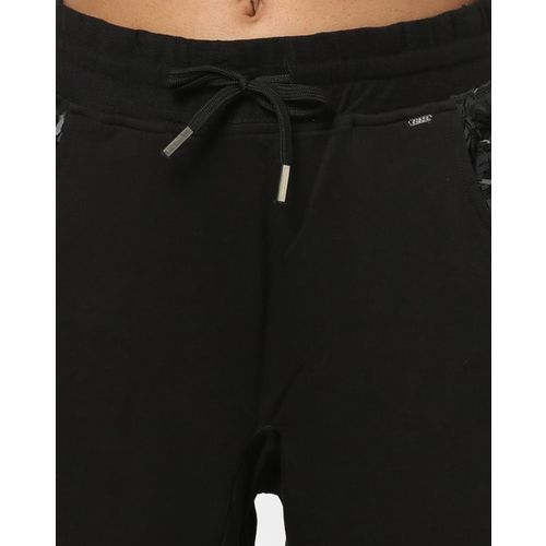 GAS Mid-Rise Tapered Fit Jogger Pants with Elasticated Drawstring Waistband