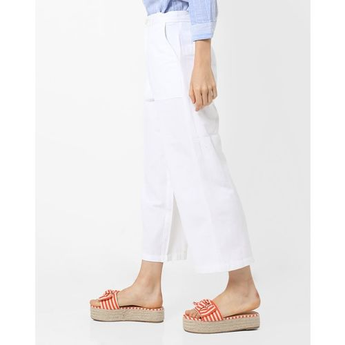 Oxolloxo Mid-Rise Ankle-Length Trousers